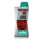 Масло моторное MOTOREX 4T CROSS POWER 10W50 - 1 л