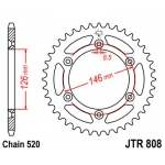 Звезда задняя JT, 808.46, (SJ45A)