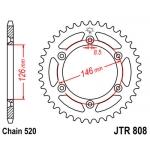 Звезда задняя JT, 808.52, (SJ45A)