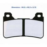 Тормозные колодки G-brake GM-01092S (VD-170, FDB2181)