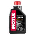 Масло вилочное MOTUL Fork Oil Factory Line light 5W, синтетическое (1л)