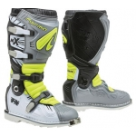 Мотоботы FORMA, TERRAIN TX GREY/WHITE/YELLOWFLUO 44