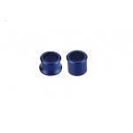Втулки переднего колеса YZ125/250/YZ250F/450F 02-06, синий, Accel (Taiwan), WSF-03
