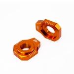 Натяжитель цепи ZETA Rear Axle Block KTM SX/SXF-'12, 85SX,EXC Orange, ZE93-5427