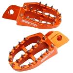 Подножки ZETA Aluminum FootPegs KTM SX '16- Orange, ZE93-1827