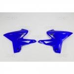 Боковые панели радиатора UFO YZ 125/250 02-14 restyling by UFO, синие, YA04834#089