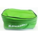Сумка на крыло Kawasaki 20*12*8, зеленая