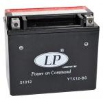 Аккумулятор Landport AGM, YTX12-BS (GSX-R1000, Bandit 1200, B-King)