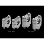 Проставки руля мотоцикла Zeta, 28.6mm - H:19mm, ZE53-0219
