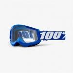 Очки 100% Strata 2 Blue / Clear Lens, 50421-101-02