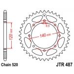 Звезда задняя JT, 487.43, (PBR491) KLE250 Anhelo