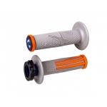 Ручки руля (грипсы) ODI V2 Lock-On EMIG PRO Grey/Orange/Navy, H36EPGO