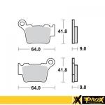 Тормозные колодки ProX KTM125-530SX-EXC (VD-997), 37.202302