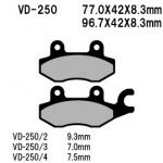 Тормозные колодки Five, VD-250