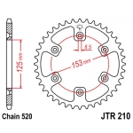 Звезда задняя JT, 210.45