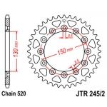 Звезда задняя JT, 245/2.50, (XL 250 Degree MD26)