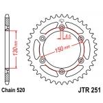 Звезда задняя JT, 251.50 (аналог 245/2)