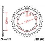 Звезда задняя JT, 260.38 XLR250 90-95