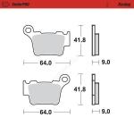 Тормозные колодки MOTO-MASTER KTM125-530SX-EXC SINTERPRO RACING (VD-997), 0944-11