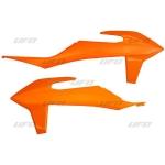 Боковые панели радиатора UFO KTM SX/SX-F 19, оранжевые, KT04092#127
