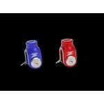 Скоба заднего тормоза ZETA R-Brake Clevis CR/CRF Red, ZE89-5015