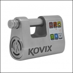 Замок навесной Kovix с сигнализацией 120Db, KBL12
