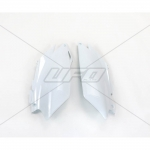 Боковые панели UFO CRF 250R 11-13, CRF 450R 11-12, белые, HO04647#041