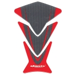 Наклейка на бак Ariete HARRI'S CARBON-RED, 12970-R