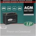 Аккумулятор Landport AGM, YTX14-BS (R1200GS, Shadow, ZZR1200, FJ1200)