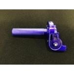Ручка газа металлическая Otom Racing, синяя