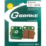 Тормозные колодки G-brake GM-03030S (VD-127, FDB381)