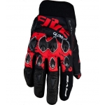 Перчатки FIVE, STUNT REPLICA Splash black/red L