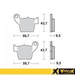 Тормозные колодки ProX CR125/250 '02-07+CRF150/250/450R '02-20,CRF250X 04-15 (VD-168), 37.208202