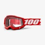 Очки 100% Accuri 2 Enduro Red / Clear Dual Lens, 50221-501-03
