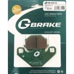 Тормозные колодки G-brake GM-03017S (VD-425, FDB314)
