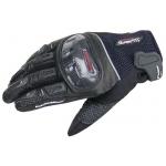 Перчатки Komine, GK-143 Carbon Delos Black M