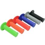 Ручки руля (грипсы) DRC Team Grip Closed type синие, D41-04-104