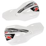Лопухи для защиты рук ZETA Impact X3 Handguard Rep.Plastic White, ZE74-4210