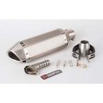 Глушитель для эндуро/кросс серый (серый) 370 мм, A3