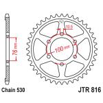 Звезда задняя JT, 816.43