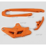 Слайдеры набор (маятник, ловушка) UFO, KTM EXC 2Т/4Т 12-19, оранжевый, KT04036#127