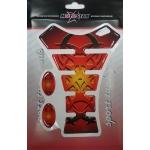 5326a Наклейка на бензобак Grafiti красная