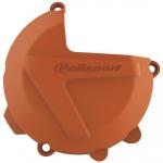 Защита крышки сцепления Polisport KTM EXC, XCW, SX, XC250-300 '17-21 оранжевая, 8461700002