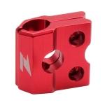 Крепеж тормозного шланга ZETA F-Brake Line Clamp XR/CRF150 Red, ZE92-0106