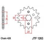 Звезда передняя JT, 1263.15