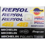 Наклейки комплект REPSOL HRC 5986