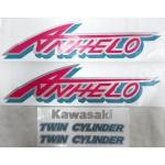 Наклейки комплект KAWASAKI KLE ANHELO 7201
