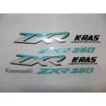 Наклейки комплект KAWASAKI ZXR250(2569)