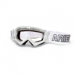 Очки ARIETE, MX MUDMAX WHITE / CLEAR LENS WITH PINS, 14940-BCG