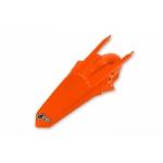 Крыло заднее UFO KTM EXC 17-19, EXC-F 17-19, ярко-оранжевое, KT04081#FFLU